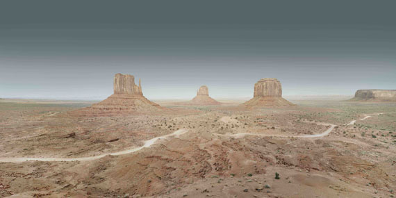 Francesco Jodice: Monument Valley #016, 2015,  aus der Serie: Sunset Boulevard