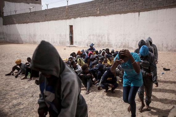 Libya : A Human Market Place