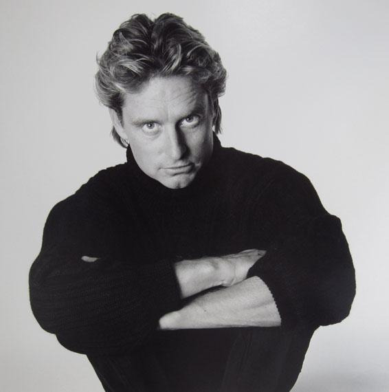 Patrick Demarchelier: Michael Douglas, 1985
