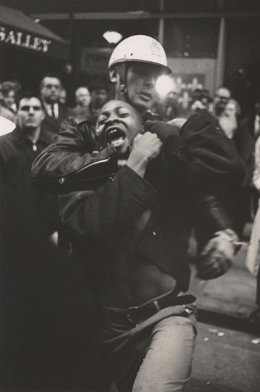Danny Lyon: Arrest of Taylor Washington, Atlanta, 1963 