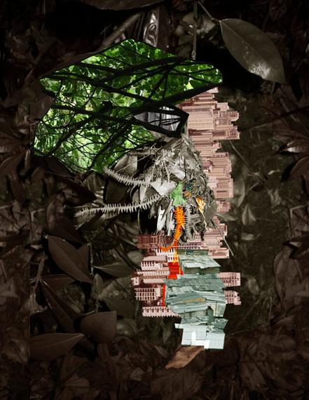 Caio ReisewitzAvanhandava, 201555 x 42 cm, Inkjet print of collage© Caio Reisewitz / Van der Mieden Gallery