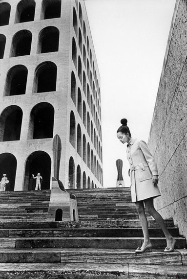 Elisabetta Catalano. Sculptures of Mario Chereli. Rome. 1970s © Archive by Elisabetta Catalano