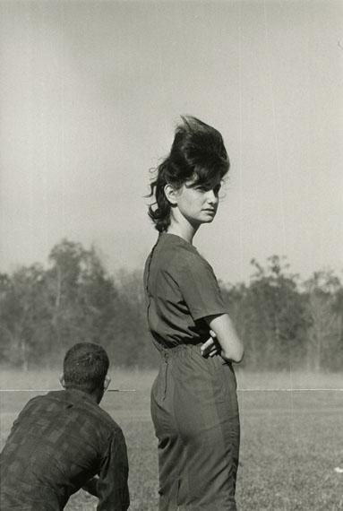 Danny Lyon, Woman at a Race in Prairieville, Louisiana, 1964© Danny Lyon / Magnum Photos. Courtesy Gavin Brown's Enterprise
