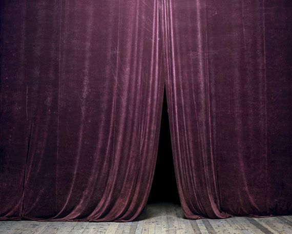 Curtain (House of Culture, Petroșani), 2014 © Tamas Dezso, Notes for an Epilogue