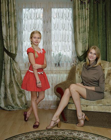 Marianna and Sasha Kingisepp, Russia November-2, 2014 © Rineke Dijkstra