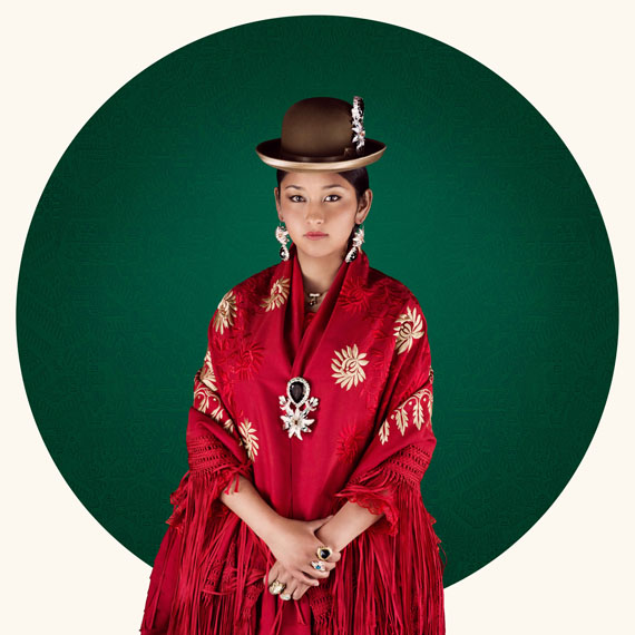 © Delphine Blast, Cholitas 1, serie Cholitas, la revanche d'une génération, 2016, courtesy The Chata Gallery