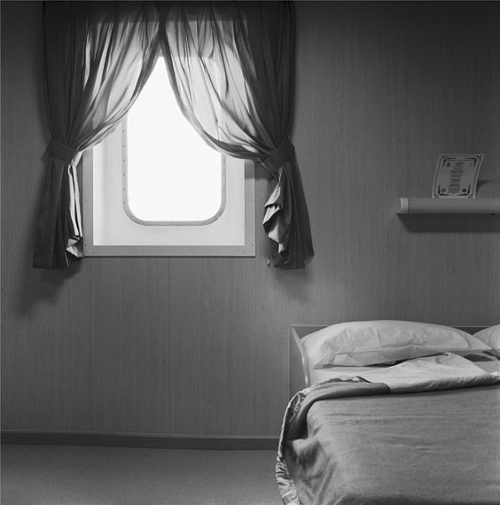 Massimiliano Camellini: Cabin n° 1, Jolly Cristallo, 20-11-2012, Genova, Terminal Messina, Courtesy of BAG GALLERY