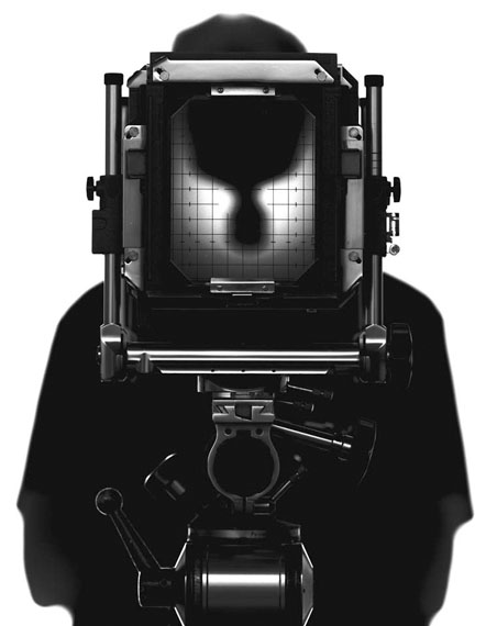 o. T. (Selbstporträt), 2002, freie Arbeit © Hans Hansen
