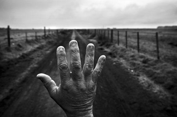 Alfredo Cerán brachte neun Jahre lang Unkrautvernichtungsmittel auf Sojafeldern aus, Monte Maíz, Argentinien, 2015© Pablo E. Piovano