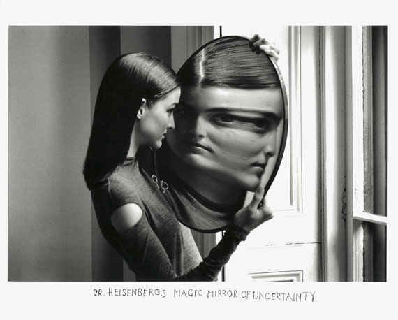 Duane Michals: Dr. Heisenberg's Magic Mirror of Uncertainty, 1998>