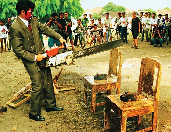 FX Harsono. Victim - Destruction I, 1997.