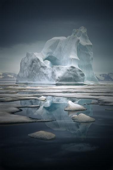 Sebastian Copeland. Iceberg XIX, Greenland 2010