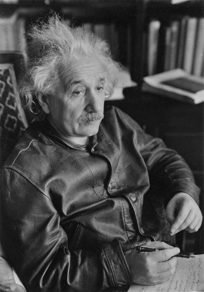 Lotte Jacobi: Albert Einstein, Princeton 1938
