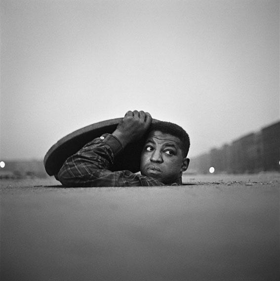 Gordon Parks: The Invisible Man, Harlem, New York, 1952Courtesy of and © The Gordon Parks Foundation