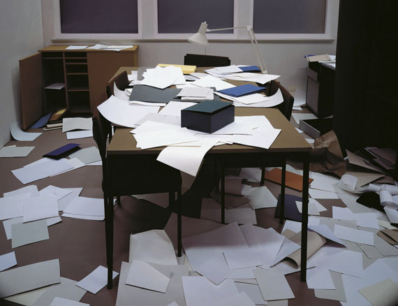 Thomas Demand: Büro, 1995/2007