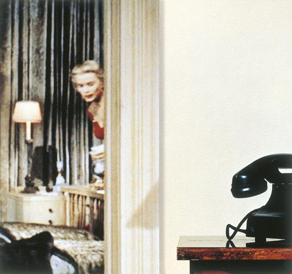 """Martina Sauter: """"Graces Zimmer"""", 2005, zweiteiliger C-Print, 25 x 26,5 cm © Martina Sauter"""