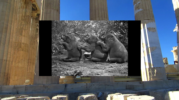 """Eli Cortiñas: aus """"The Most Given of Givens"""", 2016, 3 channel video, 9'30''Courtesy the artist and Soy Capitán, Berlin © Eli Cortiñas"""
