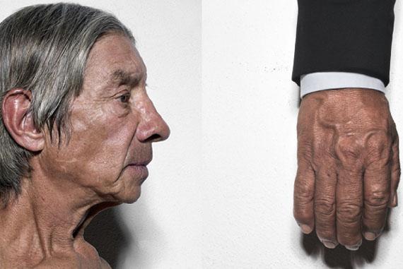 José Luis Cuevas: De la serie Sobre la resistencia de los cuerpos, 2014-2017© José Luis Cuevas