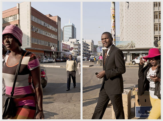 Union Avenue, Harare, Zimbabwe, 2016 2016Diptych; Pigment ink on cotton paperImage size 90cm x 60cm each©Guy Tillim. Courtesy of Stevenson, Cape Town and Johannesburg