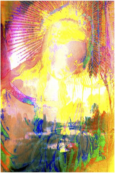 Annelies ŠtrbaMadonna 004, 2017Pigment print on canvas, 75 x 50 cm© Annelies Štrba