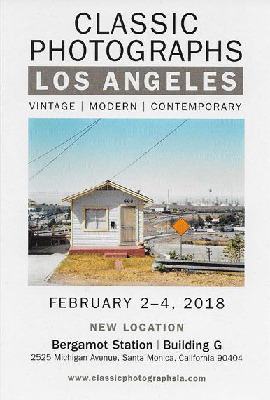 Classic Photographs Los Angeles 2018