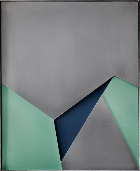 Steel strata Mk 1 © Theo Simpson / Webber Gallery, London 