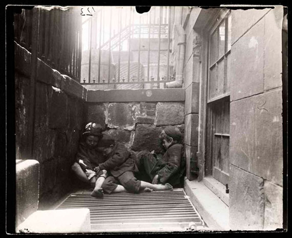 Street Arabs in sleeping quarters, 1888-1889 © Jacob Riis/ Museum of the City of New York