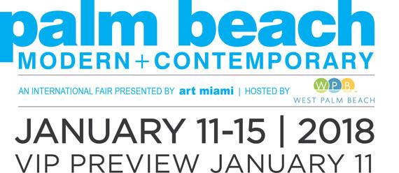 Palm Beach Modern + Contemporary 2018