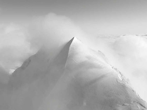 Robert Bösch: Piz Roseg, Engadin, Switzerland, 2017