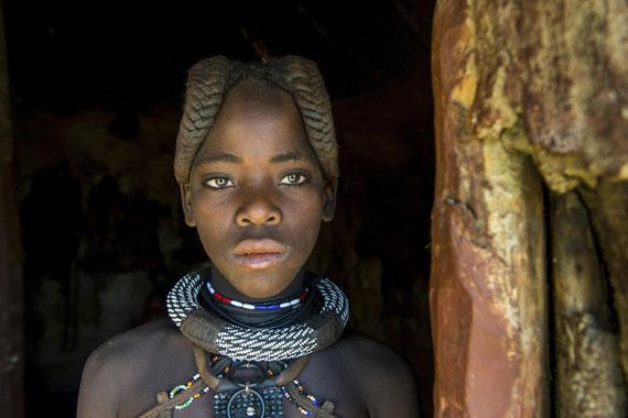 Himba Mädchen, Namibia © Michael Runkel