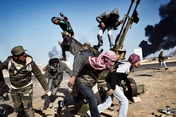 Yuri Kozyrev / NOOR, Libya, Ras Lanuf, 11 March 2011 