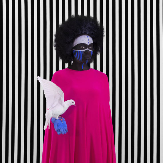 Aida Muluneh, Compromise, 2017. Courtesy of Jenkins-Johnson Gallery