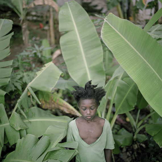 Pradip Malde: Banana Trees, Saut Maturin, Haiti 2007. From the series »The Third Heaven«, 2006–2012 