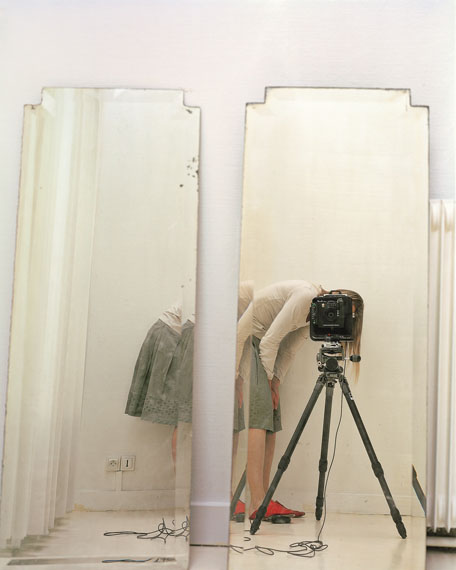Elina Brotherus: Artist and Model, Reflected in a Mirror © Elina Brotherus, Courtesy gbagency