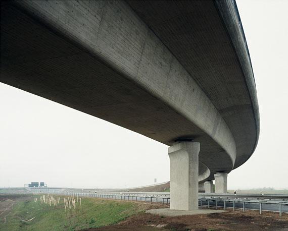 Hans-Christian Schink: A9-A38, Autobahnkreuz Rippachtal (1), 2010, 178 x 211 cm© Hans-Christian Schink, 2018