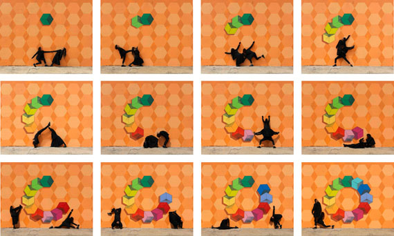 Robin RhodeNigerian Sands, 2018C-prints 56.0 × 70.0  Size (cm) 22.0 × 27.6  Size (in) © Robin Rhode