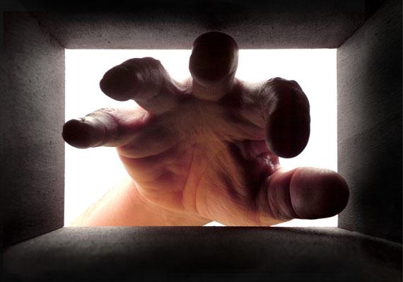 Kurt Buchwald: Die Hand, aus: Im Kasten, Zella-Mehlis 2012