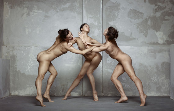 After Rodin V, Three Faunesses, 2016 © Erwin Olaf