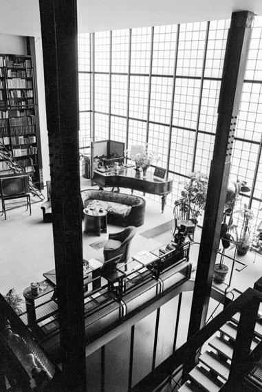 The glass house. / Das Glashaus