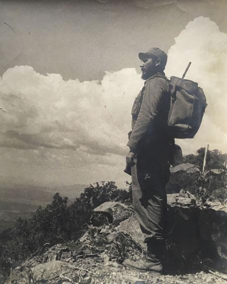 Alberto Diaz Korda: Fidel Castro en Sierra Maestra 1962