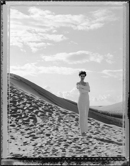 Werner Mahler: Gran Canaria, Wüste 02, Gelatine Silber Abzug auf Bartpapier, 140 x 110 cm