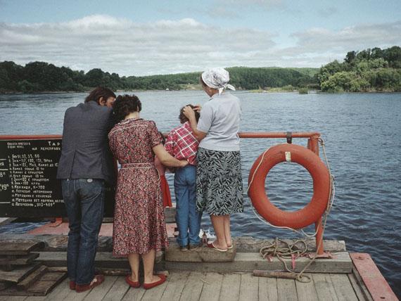 Sur le fleuve Amour près de Blagovechtchensk, 1991 © Claudine Doury
