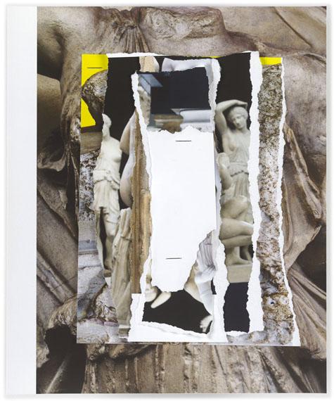 """© Amin El Dib, aus """"BruchWerke"""", Piezopigmentdruck und Heftklammern, 2017"""