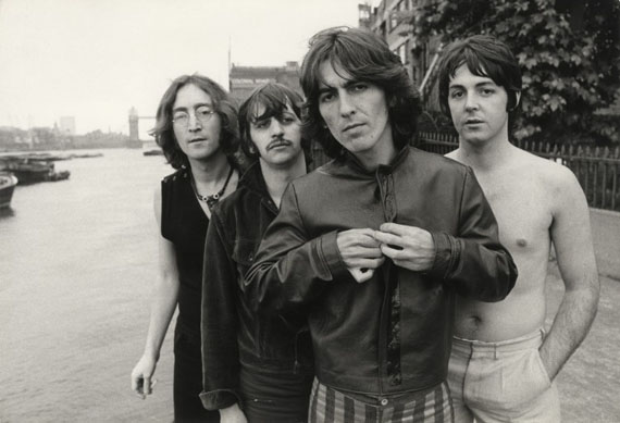 The Beatles, Limehouse, London, 1968Vintage gelatin silver print © Don McCullin