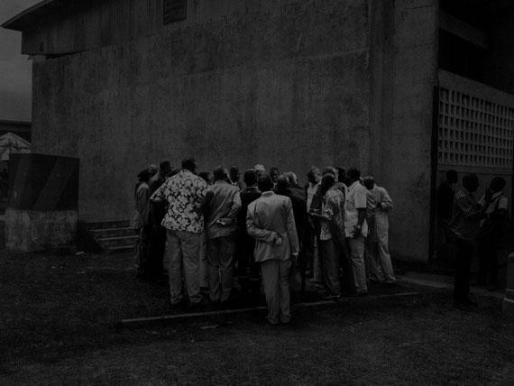 Republic of Congo, 2013, Scene #5370 © Alex Majoli / Magnum Photos Pointe Noire. Political gathering with local government members.