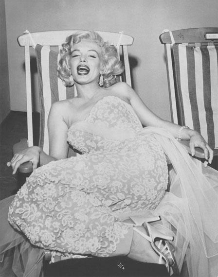 Frank Worth: Marilyn Monroe on Deck Chair, 1955Courtesy Grisebach GmbH