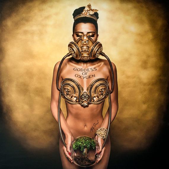 Goddess of oxygen – esbós © Philippe Shangti