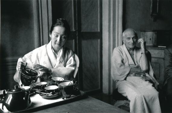 Hervé Guibert. Balthus et sa femme, 1988 © Hervé Guibert. Collection Maison Européenne de la Photographie, Paris