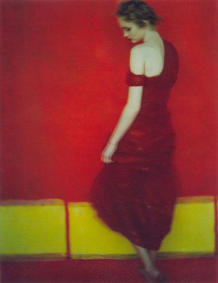 """Sarah Moon """"Lanvin"""" 1998, Polaroid© and courtesy Persiehl & Heine, Galerie für Fotografie"""