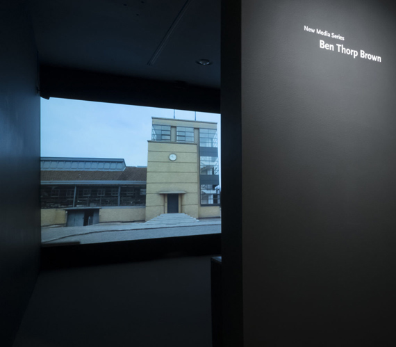 installation view: New Media Series, Saint Louis Art Museum, St. Louis